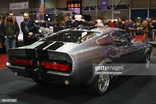 A detailed view of the 1967 Ford Shelby Mustang GT500 know as Eleanor from the movie or Hero Car in Gone in 60 Seconds during the 25th edition of...
