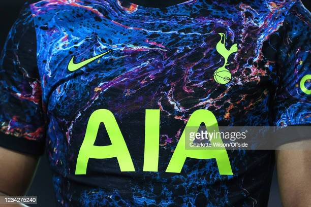 Detailed view of the colourful Tottenham third kit during the Pre-Season Friendly match between Milton Keynes Dons and Tottenham Hotspur at Stadium...