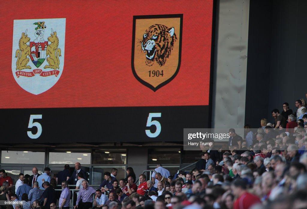 Bristol City v Hull City - Sky Bet Championship