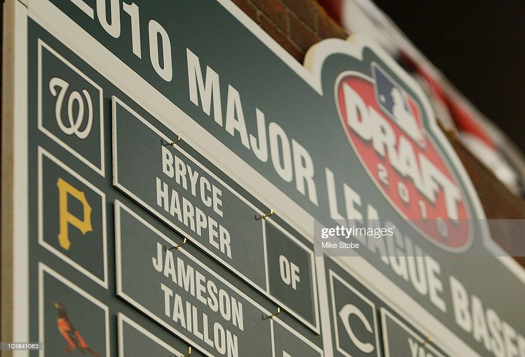 MLB First Year Player Draft : News Photo