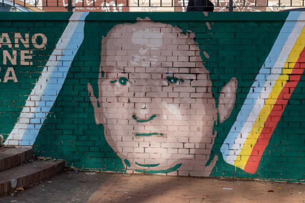 ITA: AS Roma Cares And Fondazione SS Lazio 1900 Unveils New Mural