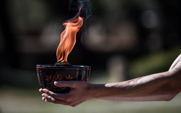 GRC: Lighting Ceremony Of The Olympic Flame