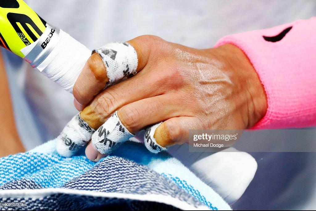 2018 Australian Open - Day 9 : News Photo