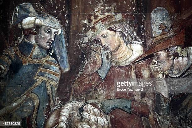 detailed view of the triumph of death - renaissance stock-fotos und bilder