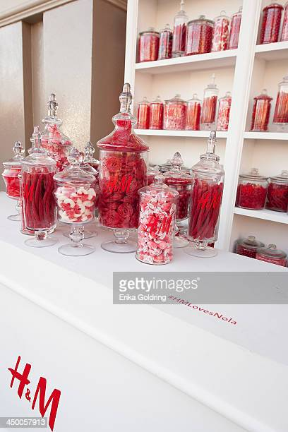 A detailedl view of the candy bar in the garden at HM on November 15 2013 in New Orleans Louisiana