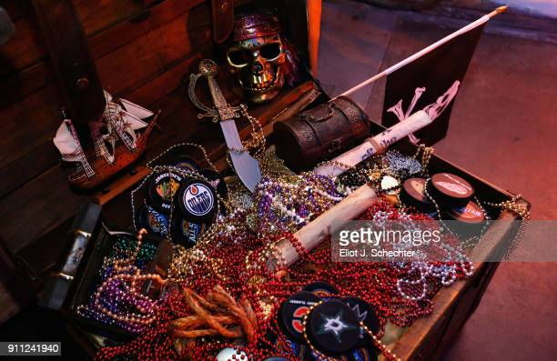 Details are seen during the Saturday Night Party as part of the 2018 NHL AllStar Weekend on January 27 2018 in Tampa Florida