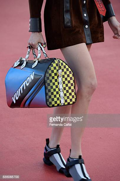 Details at Louis Vuitton 2017 Cruise Collection at MAC on May 28 2016 in Niteroi Brazil