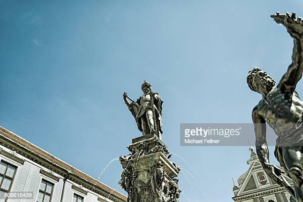 CONTENT] Details of Brunnenhof in Residenz Munich Bavaria Germany