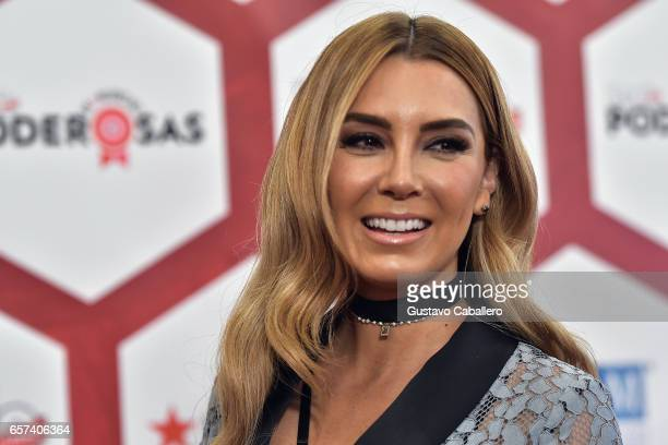Details of Elizabeth Gutierrez necklace at the People En Espanol's 25 Most Powerful Women Luncheon 2017 at Hyatt Regency on March 24, 2017 in Coral...