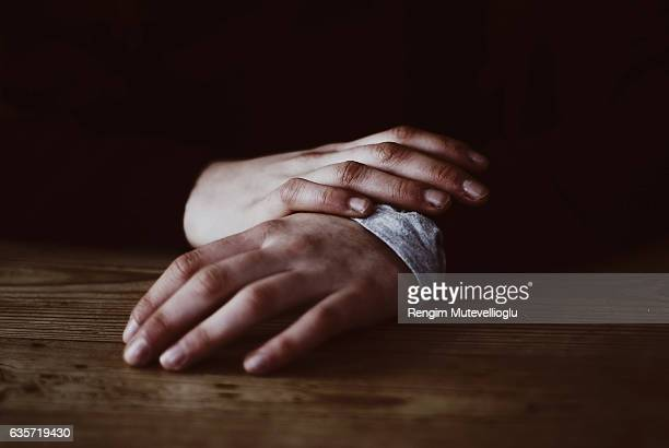 Details of hands