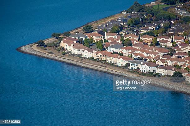 details of houses - treasure island san francisco stock pictures, royalty-free photos & images