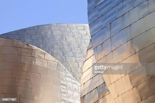 Detalles de la arquitectura: Museo Guggenheim de Bilbao