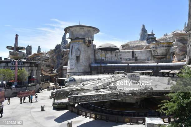 Details of Star Wars Galaxy's Edge media preview at The Disneyland Resort at Disneyland on May 29 2019 in Anaheim California