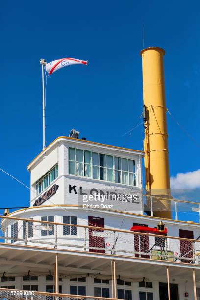 details of the s.s. klondike - national landmark stock pictures, royalty-free photos & images