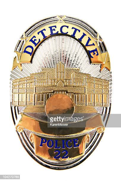 detective badge - detective stock pictures, royalty-free photos & images