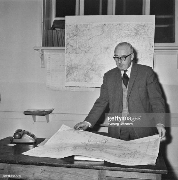 Detective Chief Superintendent Arthur Benfield, head of the Cheshire Police's Criminal Investigation Department, leads the search for the missing...