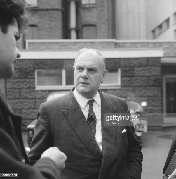 Detective Chief Superintendent John Du Rose at Shepherd's Bush Police Station 18th February 1965 He is leading the investigation into the murder of...