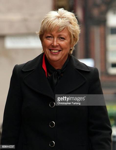 Detective Constable Christine Freeman arrives at Leeds crown court for the trial into the abduction of Shannon Matthews on November 11 Leeds England...