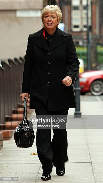 Detective Constable Christine Freeman arrives at Leeds crown court for the trial into the abduction of Shannon Matthews on November 11 in Leeds...