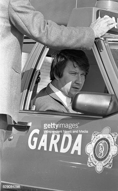 Detective Garda Michael Dowd who was grazed by a bullet at the scene of the raid on the Drumree Co Meath Post Office in which his colleaugue...