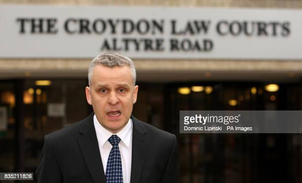 Detective Inspector Dave Reid speaks to the media outside Croydon Crown Court Croydon after John Worboys was found guilty of drugging and sexually...