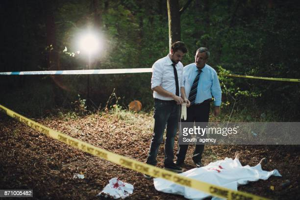 Detectives looking for evidence