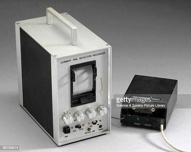 Detector Recorder device developed by Dr Michele Clements to record the output from her PPN Detectors used for screening the central nervous system...