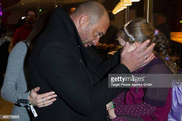 Detelf D! Soost and his daughter Ayana attend the Apassionata VIP Reception at O2 World on January 19, 2014 in Berlin, Germany.