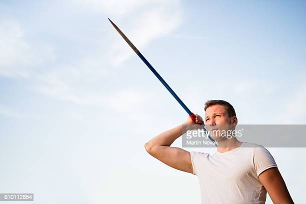 Determination - man with javelin