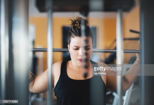 determined to lose weight. - effort stock pictures, royalty-free photos & images