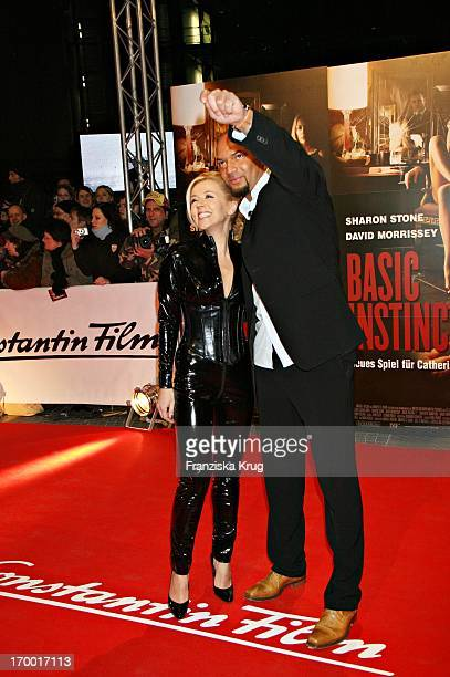 "Detlef D Soost And Davorka Tovilo at The Premiere of ""Basic Instinct 2"" in Cinestar in Berlin 220306."