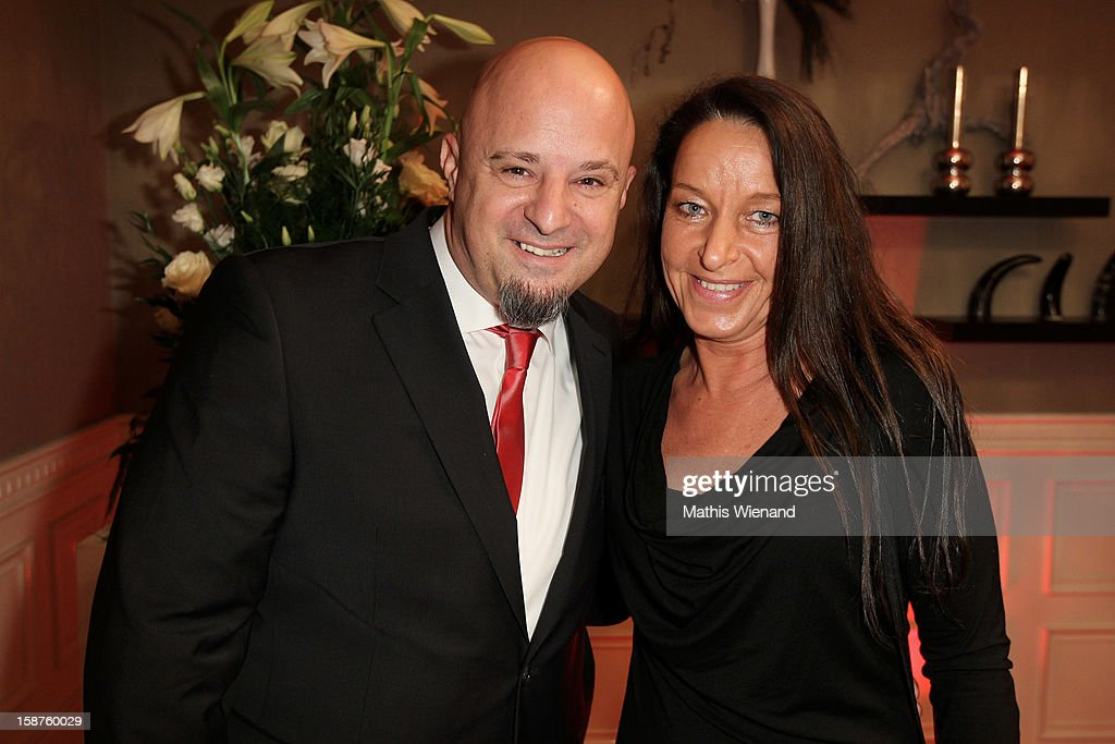 Detlef 'Deffi' Steves and his wife Nicole attend the Silver Fox Charity Gala at Hotel van der Falk on December 22, 2012 in Moers, Germany.