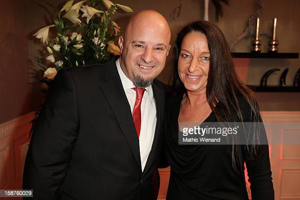 Detlef 'Deffi' Steves and his wife Nicole attend the Silver Fox Charity Gala at Hotel van der Falk on December 22 2012 in Moers Germany