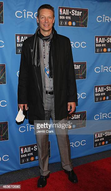 Detlef Schrempf attends NBA AllStar Saturday Night Powered By CIROC Vodka at Barclays Center on February 14 2015 in New York City