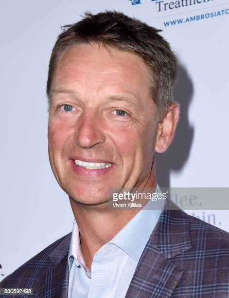 Detlef Schrempf attends the 17th Annual Harold Carole Pump Foundation Gala at The Beverly Hilton Hotel on August 11 2017 in Beverly Hills California
