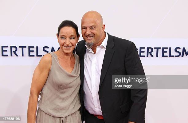Detlef Steves and Nicole Steeves attend the Bertelsmann Summer Party 2015 at the Bertelsmann representative office on June 18 2015 in Berlin Germany