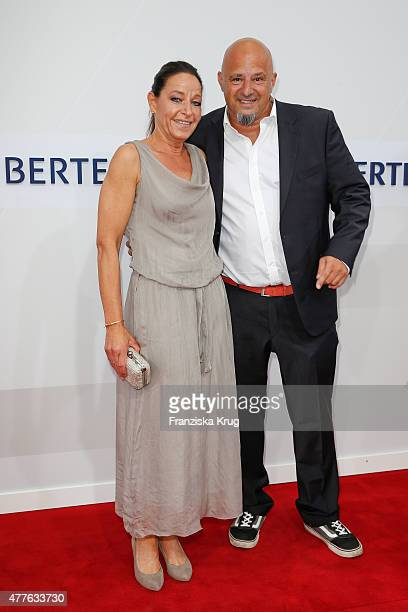 Detlef Steves and Nicole Steves attend the Bertelsmann Summer Party on June 18 2015 in Berlin Germany