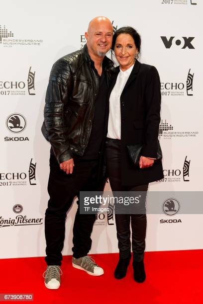 Detlef Steves and Nicole Steves on the red carpet during the ECHO German Music Award in Berlin Germany on April 06 2017
