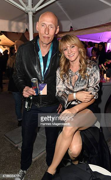 Detlev Bothe and Luise Baehr attends the Audi Director's Cut at the Praterinsel during the Munich Film Festival at Praterinsel on June 27 2015 in...