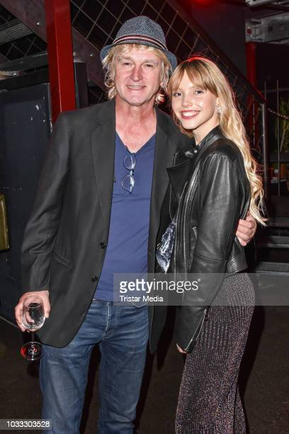 Detlev Buck and Lina Larissa Strahl during the YouTube Originals party at Festsaal Kreuzberg on September 12 2018 in Berlin Germany