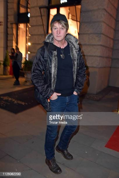 Detlev Buck attends the 'Peter Lindbergh Women Stories' world premiere after show party during the 69th Berlinale International Film Festival at...