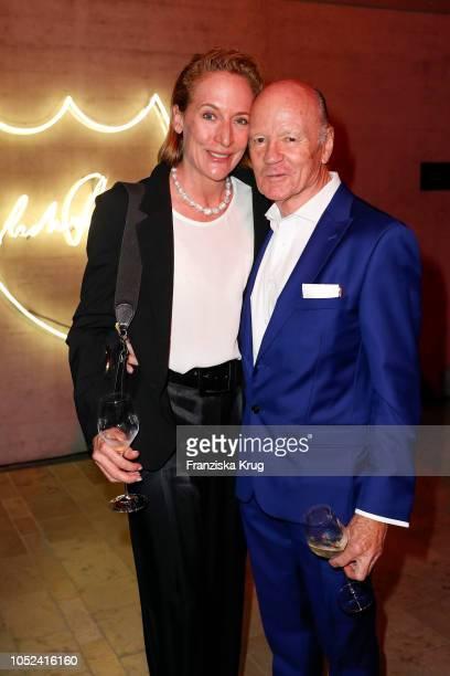 Detlev von Wangenheim and his wife Leslie von Wangenheim attend the Dom Perignon 'The Legacy' on October 17 2018 in Munich Germany