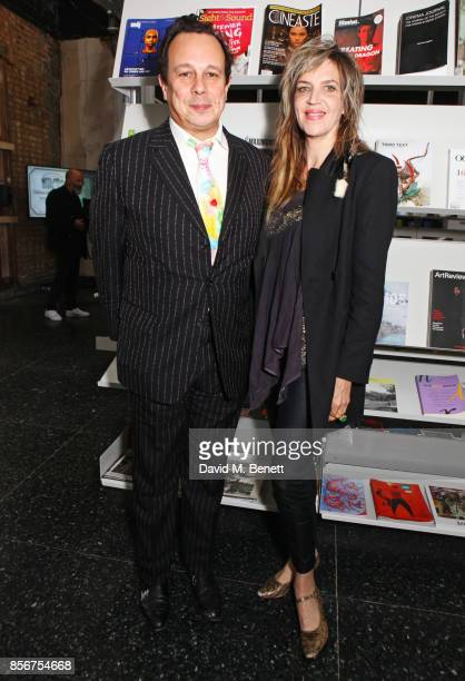 Detmar Blow and Martha Fiennes attend The Annual Friends Of The Institute of Contemporary Arts dinner honouring Bryan Ferry at The ICA on October 2...