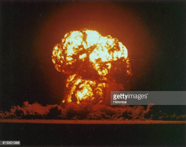 Detonation of Nuclear Device Apple2 During Operation Teapot