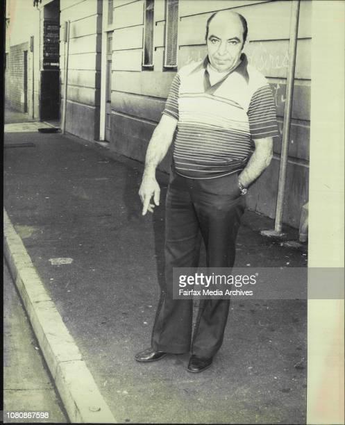 Detonator East Sydney resident Renaldo Versane points to the live detonator he found in Francis Street East Sydney today August 2 1978