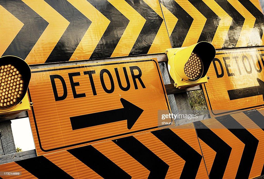 Detour : Stock Photo