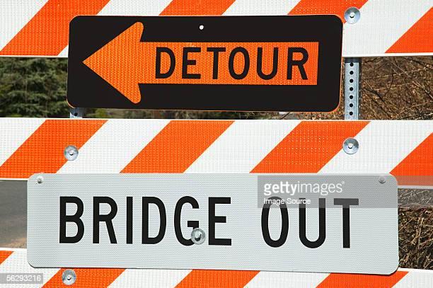 detour - detour sign stock photos and pictures