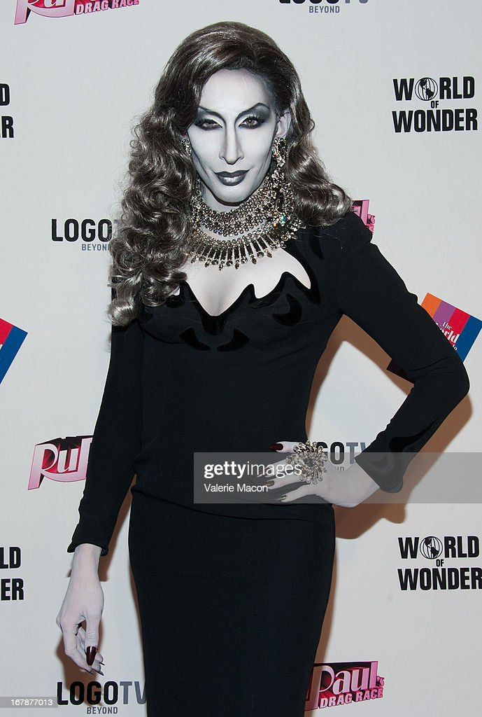 Detox attends the Finale, Reunion & Coronation Taping Of Logo TV's 'RuPaul's Drag Race' Season 5 on May 1, 2013 in North Hollywood, California.