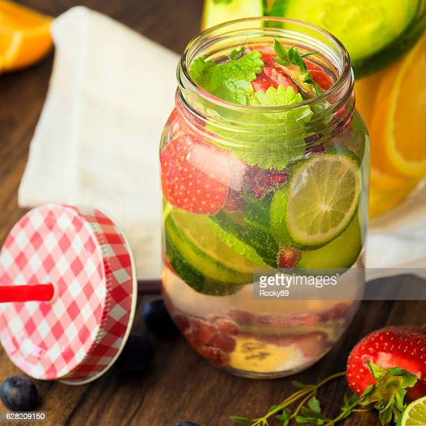 Detox Your Body with Infused Water