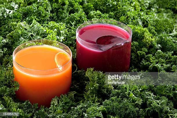Disfrute de un jugo de frutas